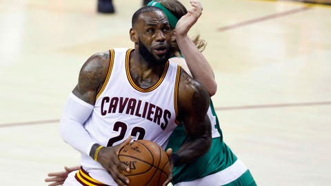 James breaks Jordan record as Cavs reach National Basketball Association finals