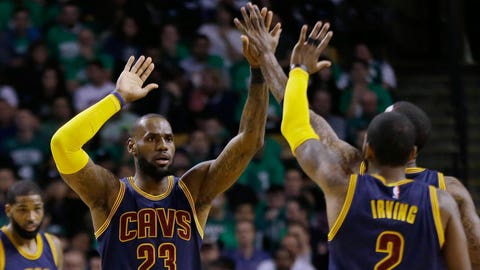 LeBron passes Michael Jordan for top of all-time playoff scoring record