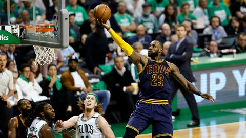 The Cavaliers stink without LeBron James, except in Game 4