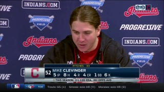 Mike Clevinger: No worse feeling than giving up lead on mound