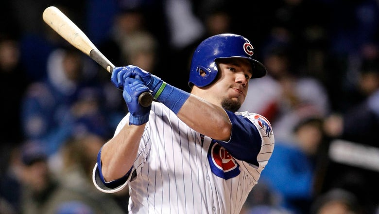 Struggling Kyle Schwarber is now officially a platoon player for Cubs