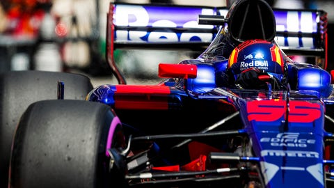 Carlos Sainz will start sixth for the Monaco GP. (Photo: Zak Mauger/LAT Images)