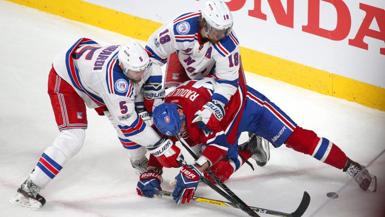 2017 Stanley Cup Playoffs: New York Rangers Downfall
