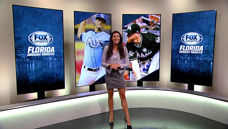 Florida Midday Minute: Archer on mound for Rays; Angels make rare visit to Miami