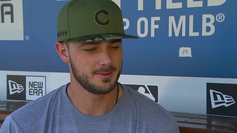 Kris Bryant explains the championship defense for the Chicago Cubs