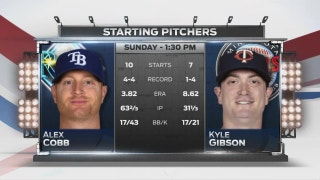 Rays try for fourth straight road series win in finale against Twins