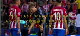 Sights and sounds of the final Madrid derby at the Vicente Calderon
