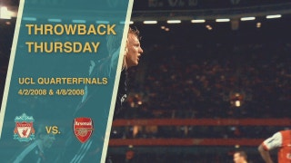 Throwback Thursday: Arsenal vs. Liverpool, 200708 Champions League