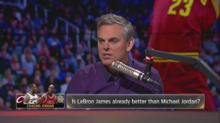 Is LeBron James already better than Michael Jordan? | THE HERD