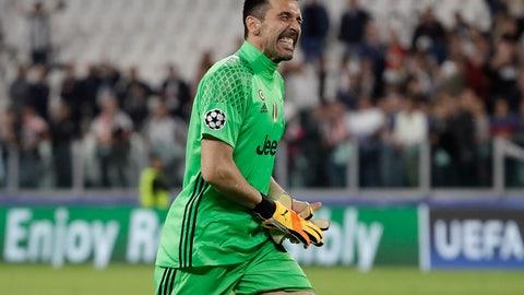 GK: Gianluigi Buffon, Juventus