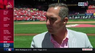 John Mozeliak talks about trading Matt Adams