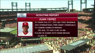 Profiling the Cardinals' newest prospect, Juan Yepez