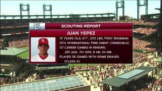 Profiling the Cardinals' newest prospect, Juan Yepez