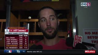 Adam Wainwright says he's 'made some good adjustments' recently
