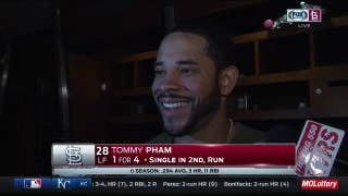 Tommy Pham debates whether his spectacular grab was actually a 'catch and dive'