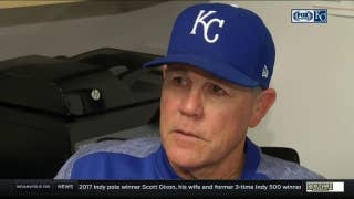 Yost frustrated after Royals offense fails to drive in runs
