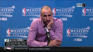 Ginobili on Feelings at End of Game 4: 'It was emotional & overwhelming'