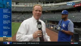 Royals' Jorge Bonifacio breaks down his swing
