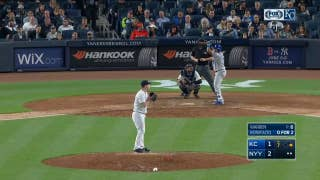 WATCH: Bonifacio homers to give the Royals lead over Yankees