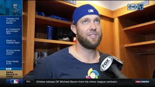 Alex Gordon on birth of his daughter