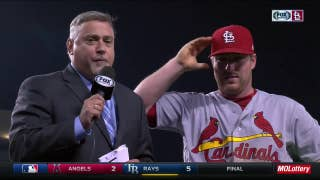 Gyorko on Leake's strong start: 'He's been impressive'