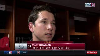 Matt Bowman won't blame the altitude for his rough outing
