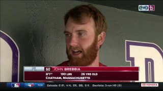 John Brebbia talks about getting the call to the majors