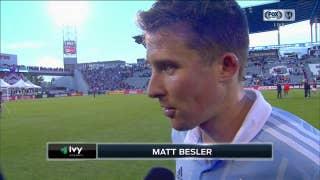 Matt Besler on Sporting KC loss: 'It's just an unfortunate result'