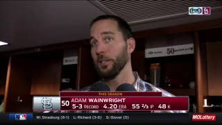 Wainwright 'did some things differently' in win over Rockies