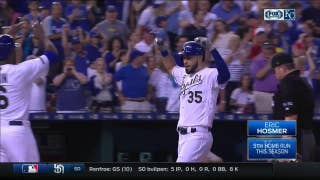 WATCH: Hosmer hits two-run homer to give Royals lead