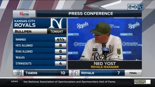 Yost says Minor and Soria 'took some damage tonight'