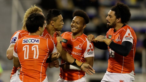 Unbeaten Crusaders defeat Hurricanes 20-12 in Super Rugby