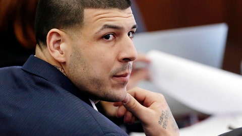 Aaron Hernandez's Murder Conviction Has Been Thrown Out Because He Killed Himself
