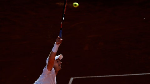 Milos Raonic advances to 3rd round at Madrid Open