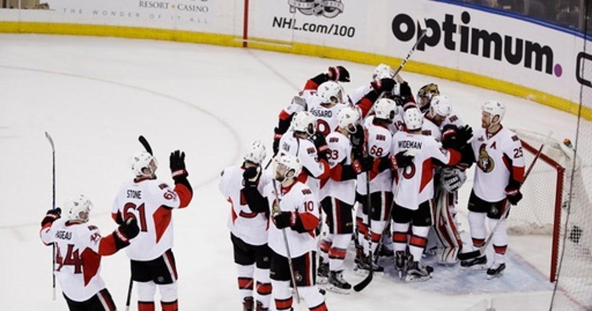 Karlsson leads Senators past Rangers into East finals (May 09, 2017)
