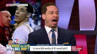 Lonzo Ball worthy of the number 1 pick in the 2017 NBA Draft? | SPEAK FOR YOURSELF