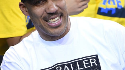 LOS ANGELES, CA - MARCH 01:  LaVar Ball attends the game between the UCLA Bruins and the Washington Huskies at Pauley Pavilion on March 1, 2017 in Los Angeles, California.  (Photo by Jayne Kamin-Oncea/Getty Images)