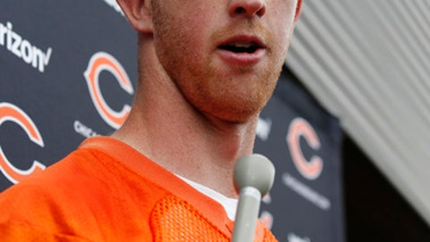 Mike Glennon calls 2017 season with Bears his year
