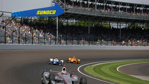 Dixon has pole, Alonso has spotlight for wide-open Indy 500
