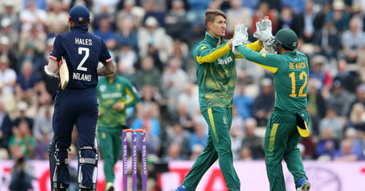 England win ODI series vs South Africa with 2-run win | FOX Sports
