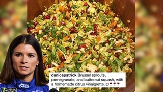 Danica Patrick Has Tip on Cooking Brussels Sprouts