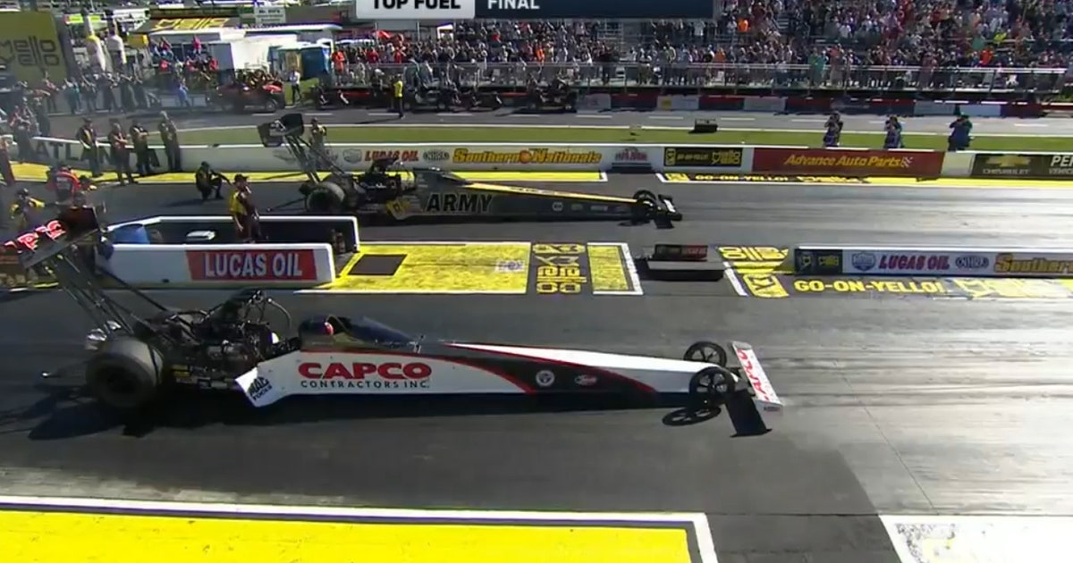 Steve Torrence Wins Top Fuel Final At Atlanta 2017 Nhra