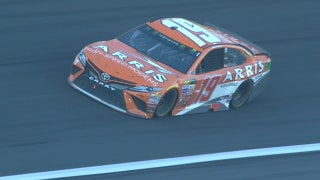 Suárez Wins Open Stage Three as Jones Wrecks in Grass | 2017 ALL-STAR RACE | FOX NASCAR