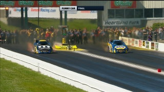 Ron Capps Wins Funny Car Final at Topeka | 2017 NHRA DRAG RACING