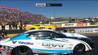 Tanner Gray Wins Pro Stock Final at Topeka | 2017 NHRA DRAG RACING