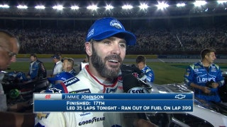 Jimmie Johnson Looses Strategy Game at Charlotte | 2017 CHARLOTTE | FOX NASCAR
