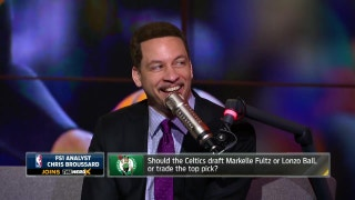 Chris Broussard defends All-NBA Team, talks Celtics' No. 1 pick | THE HERD