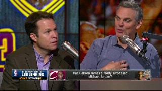 LeBron could be better than Jordan in one area - Lee Jenkins explains | THE HERD (FULL INTERVIEW)
