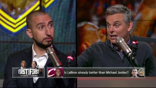 Paul Pierce calls out Nick Wright for saying LeBron is better than Jordan | THE HERD