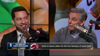 Chris Broussard on LeBron's Cavaliers blowing 21-point lead to Celtics in Game 3 | THE HERD